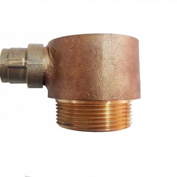 Female instantaneous male screw thread adaptor