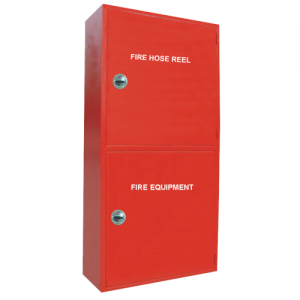 Double Cabinet - Vertical Red 2
