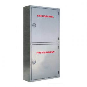 Double Cainet - Vertical Stainless Steel