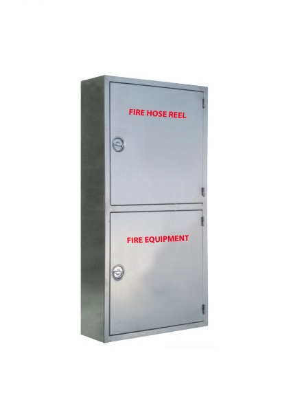 Double Cainet - Vertical Stainless Steel  sc 1 st  Firefighters & HOSE REEL u0026 FIRE EQUIPMENT CABINET u2013 STAINLESS STEEL u2013 Firefighters