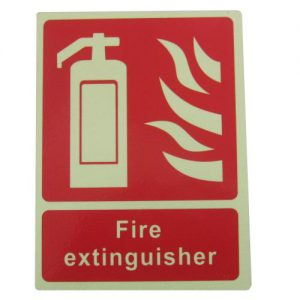 Fire Extinguisher Signs ext