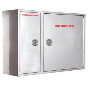 Stainless Steel Cabinet - Double