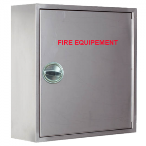 Stainless Steel - Fire Equipment Cabinet